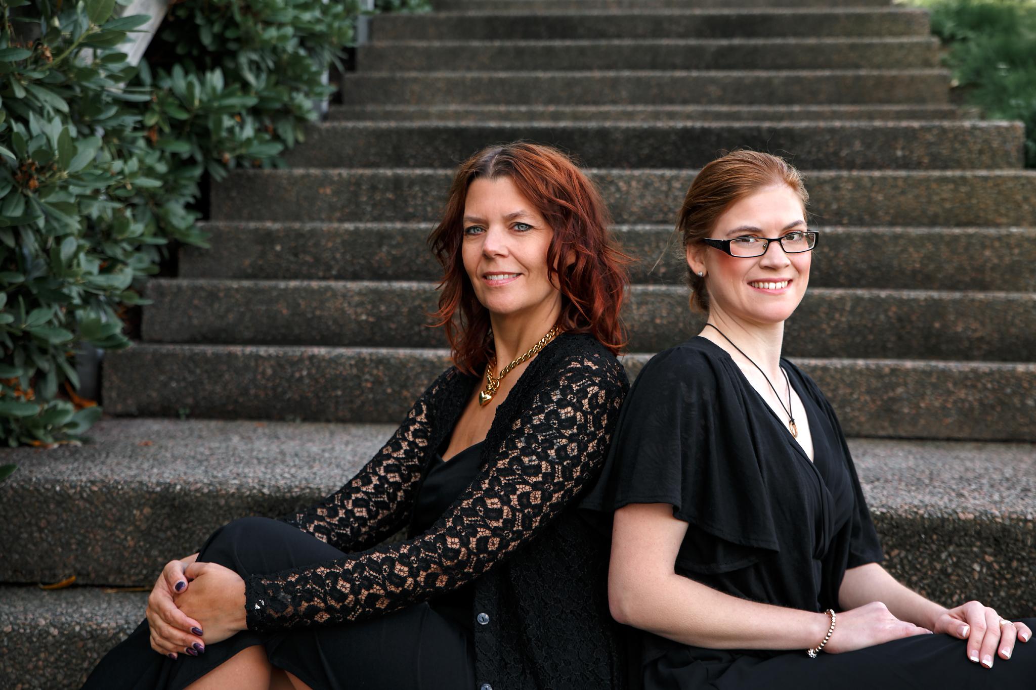 Duo Vimla -två sopraner i samklang.