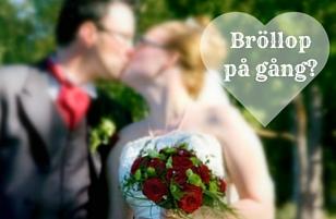 Bröllopsplanering?